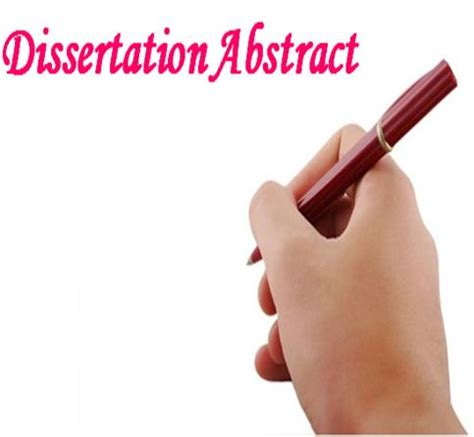 Abstracts of phd thesis